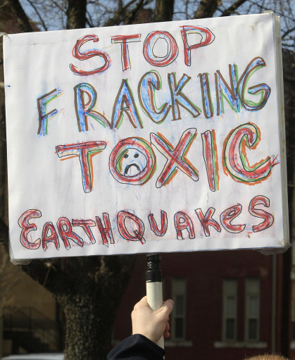 12711229 Fracking idiots come to the fore