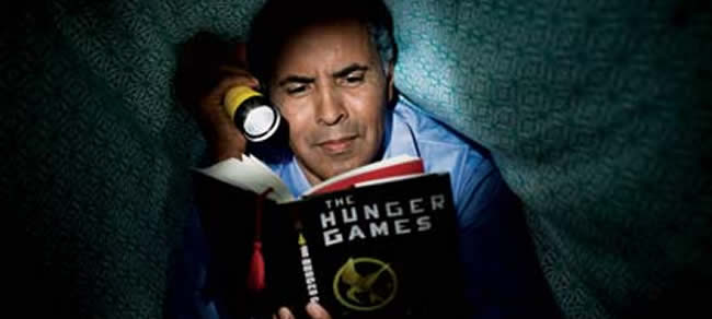 adult hunger games Seeing adults reading Harry Potter, Twilight and The ...