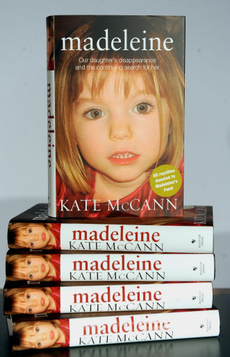 maddie book Madeleine McCann is spotted in Spain