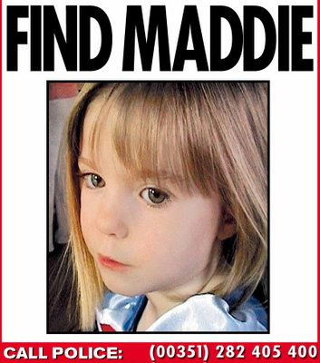 madeleine mccann  Madeleine McCann: In Brazil with a boy named Maddie
