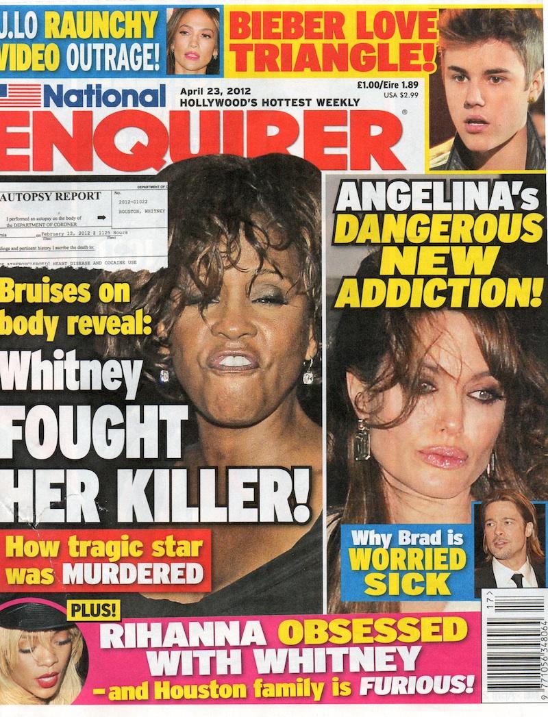 National Enquirer Headlines National Enquirer Brad