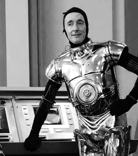 Anorak news star wars photos george lucas and his robots - Robot blanc star wars ...