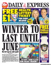 Daily Express weather Those Daily Express heat wave warnings