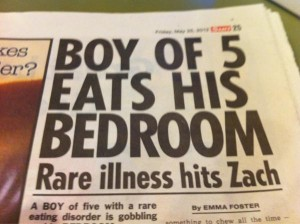 boy eats bedroom 300x224 Manchester boy eats his bedroom