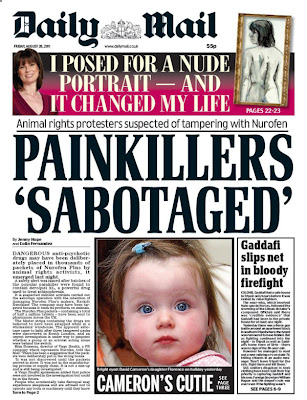 scare story The truth about the Daily Mails poison Nurofen panic