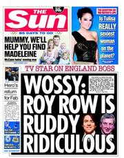 the sun hodgson Sun gets vile Jonathan Ross to defend its Woy Hodgson attack