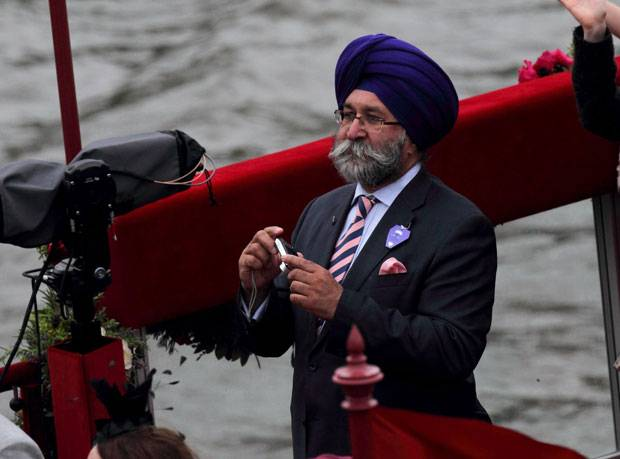 Princes Charles invited sex criminal Harbinder Singh Rana on the Royal Diamond Jubilee barge
