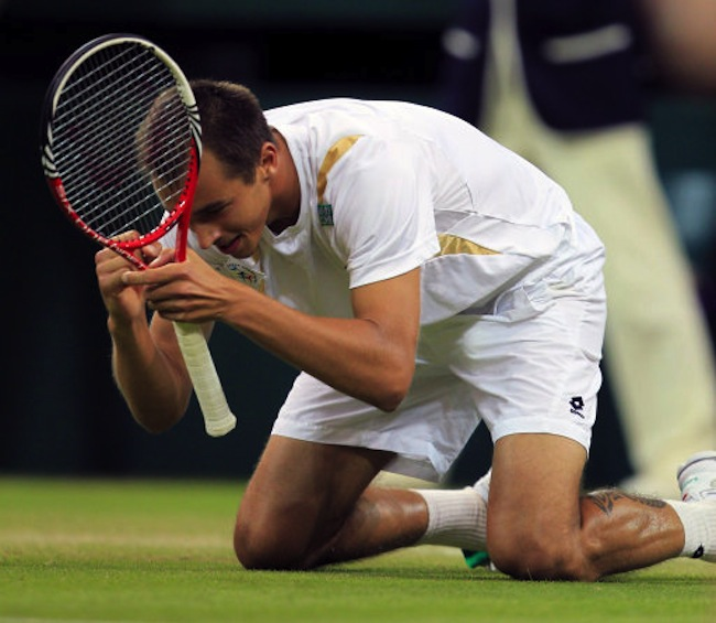 Tennis1 2 FLASHBACK: The biggest Wimbledon shocks   ever!