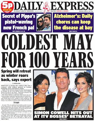 nathan rao Nathan Rao predicts   Daily Express weather experts May review