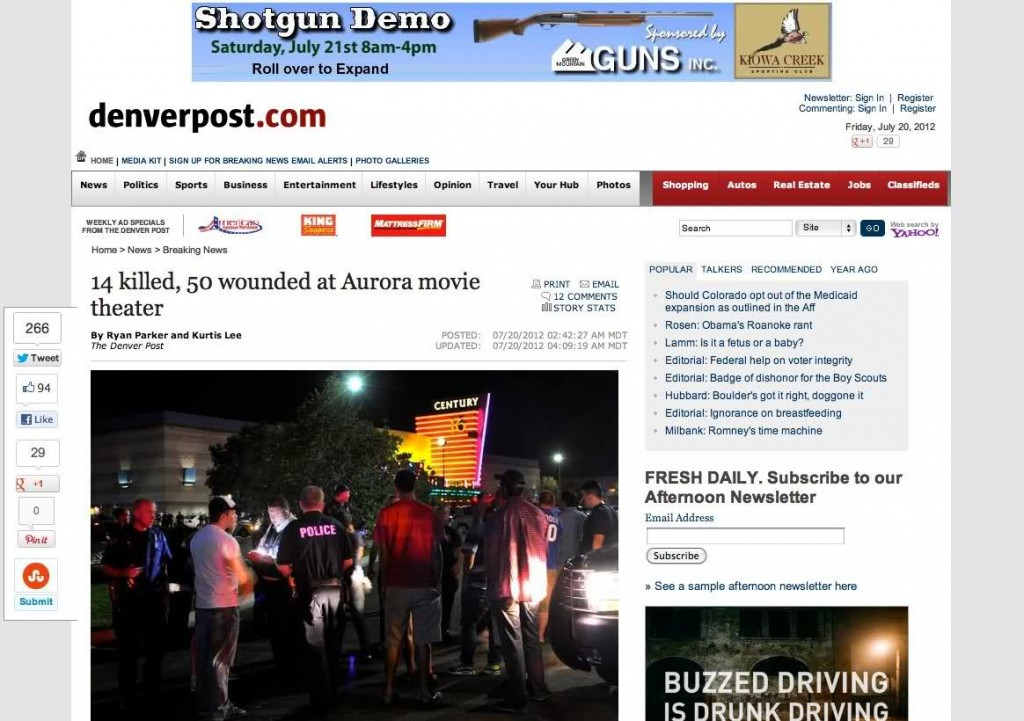 denver post ad fail 1024x721 Denver Post advertises guns demo above Batman massacre story