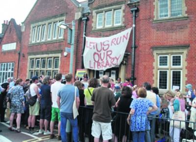 Save our libraries: there are no plans to reopen them