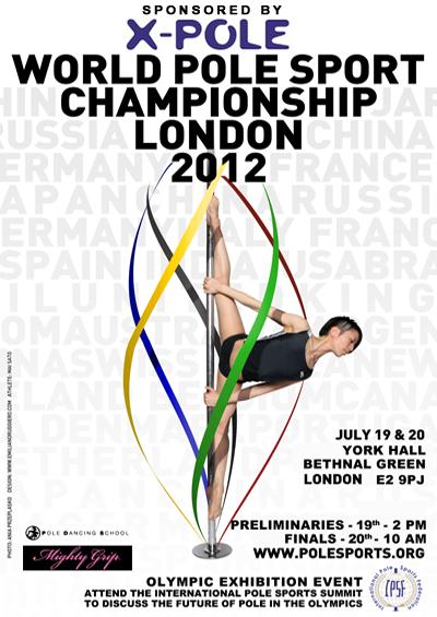 x pole show X Pole London Olympics turn pole dancing into an Olympic sport