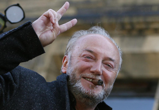 George Galloway pushes the toothpaste back into the tube: rape news update