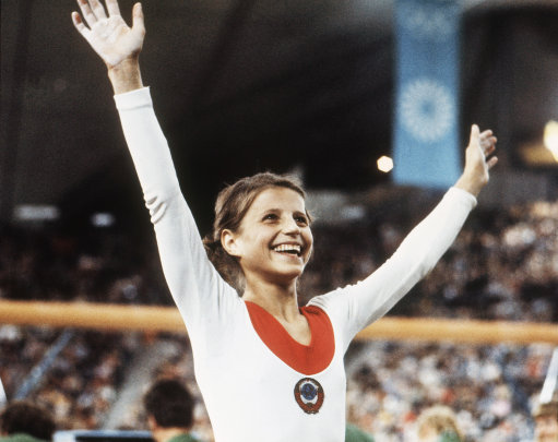 Olga Korbut is unfairly treated at London 2012