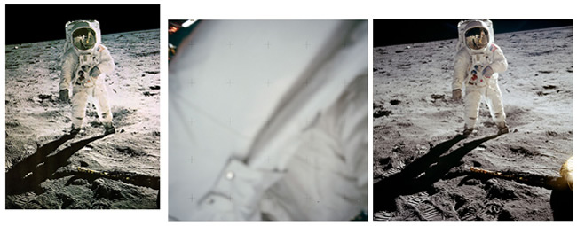FAKE MOON ARMSTRONG Nasa admits faking Neil Armstrong moon photo