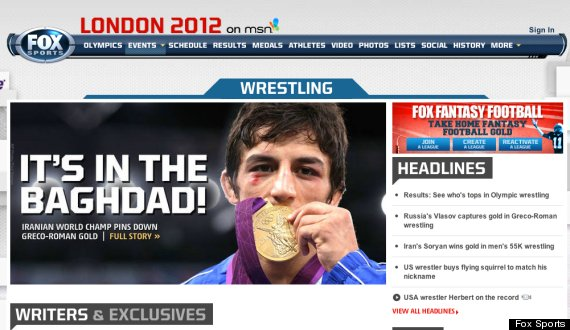 Iraq goes mad for Irans gold medal wrestler Hamid Soryan (says Fox News)