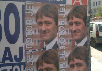 Igor Pavlicic Rodney Trotter Rodney Trotter stands for election in Serbia