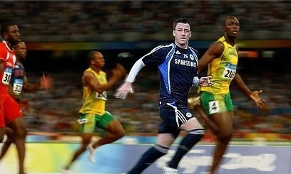 John Terry thanks Usain Bolt for helping him win Olympic 100m gold (photo)