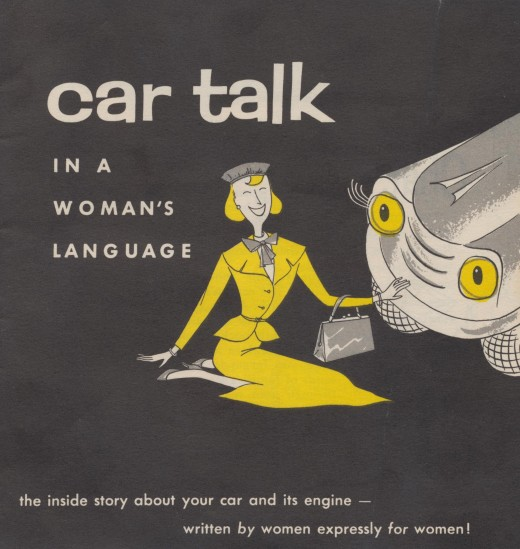 Car Talk In A Womans Language   1956 brochure