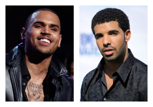 Drake and Chris Brown beef is back on, via Aaliyahs corpse