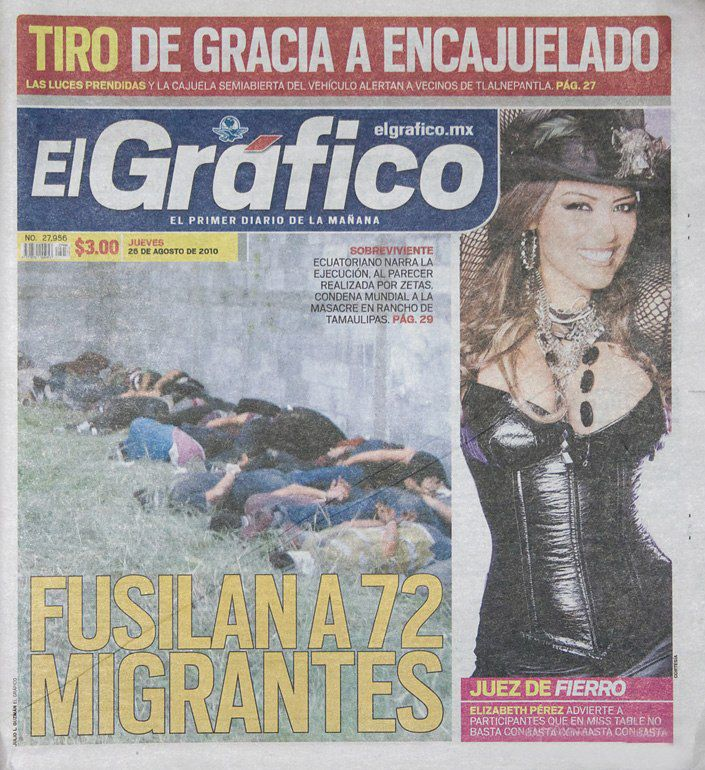 anorak news mexican tabloid spices up drugs war deaths