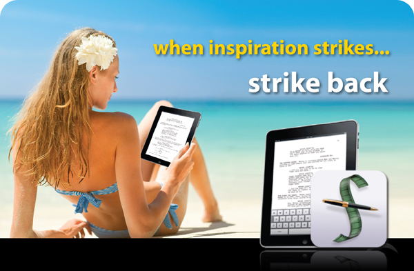 strike back screen play Final Draft advert fail: When inspiration goes on strike