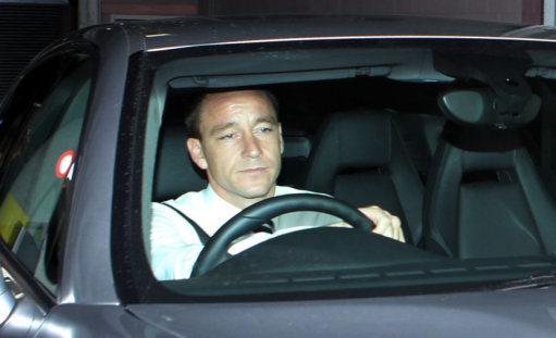 John Terry: guilty of racially abusing QPRs Anton Ferdinand in FA hearing