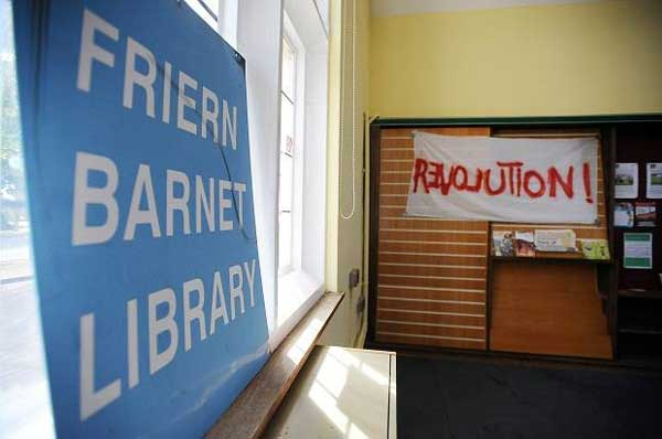 Save Friern Barnet library from the councils idiots