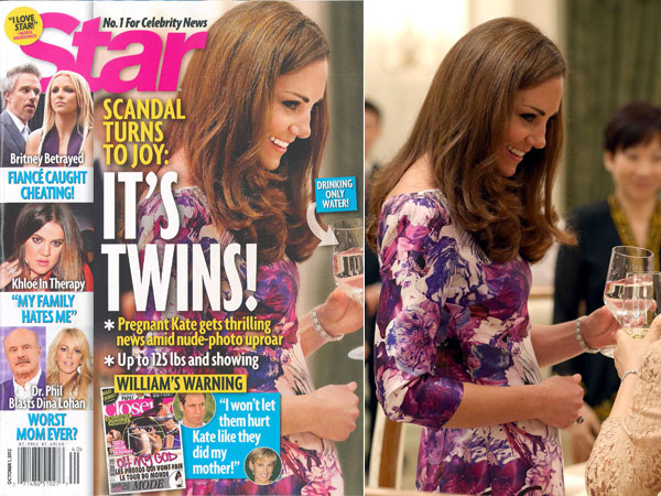 Kate Middleton pregnant Pregnancy gives topless Kate Middleton a craving for tarmac