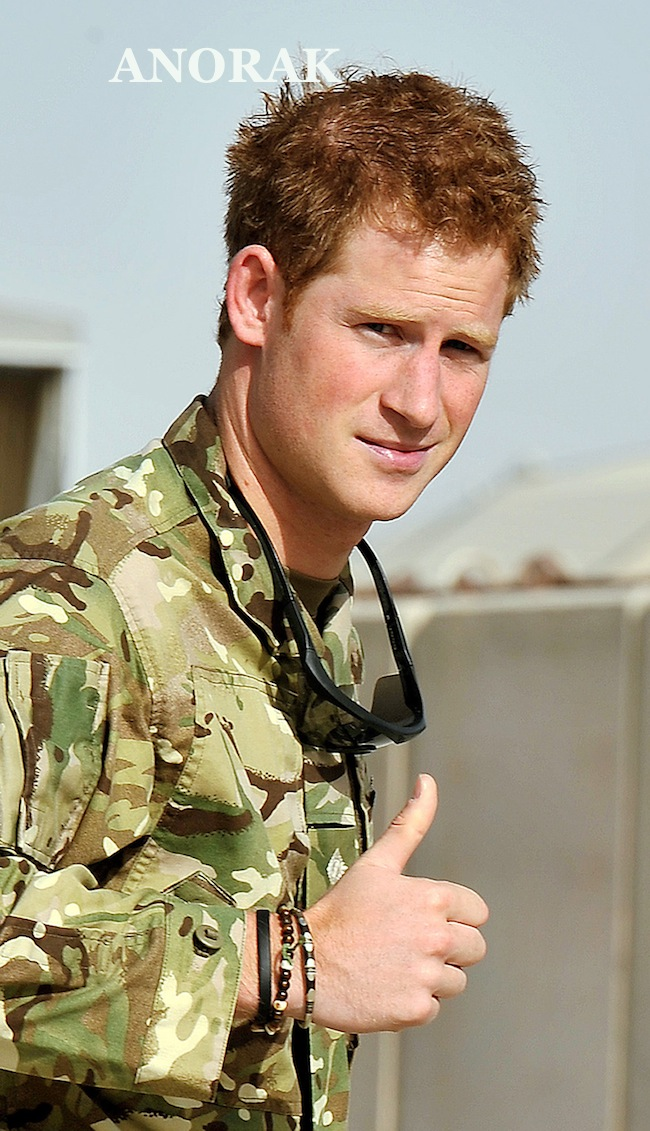 PA 14484244 Prince Harry in Afghanistan to fight the Taliban   photos