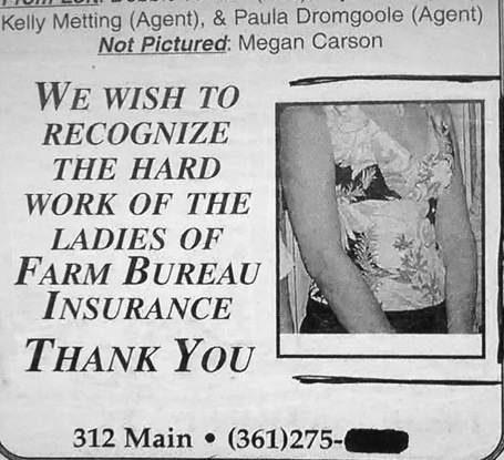 Farm Bureau salutes the female workers   fail