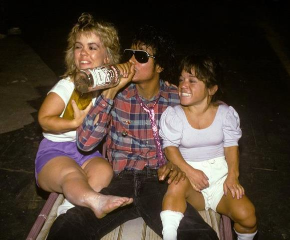 So, Michael Jackson was a hopeless drunk was he?