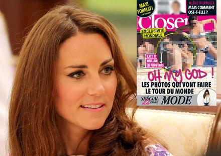 Kate Middleton, Duchess of Cambridge goes topless in Provence   photos