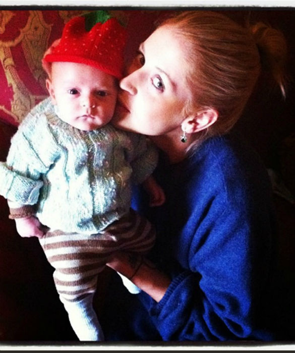 Did Daily Mails paparazzi cause Peaches Geldofs baby to fall from pram? Princess Diana all over again