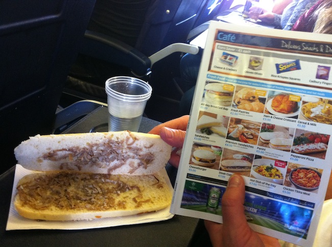 Awful food: The Ryanair Steak sandwich