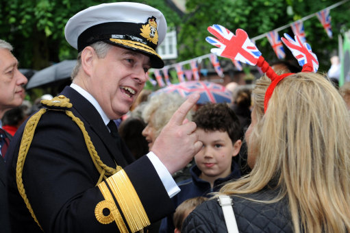 Prince Andrew cancels visit to Blackburns Green College because helicopter wont fly