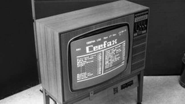 Ceefax1 Farewell Ceefax: How Internet killed the television star