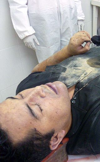 Who stole the body of Mexican drug baron Heriberto Lazcano? (Photos)