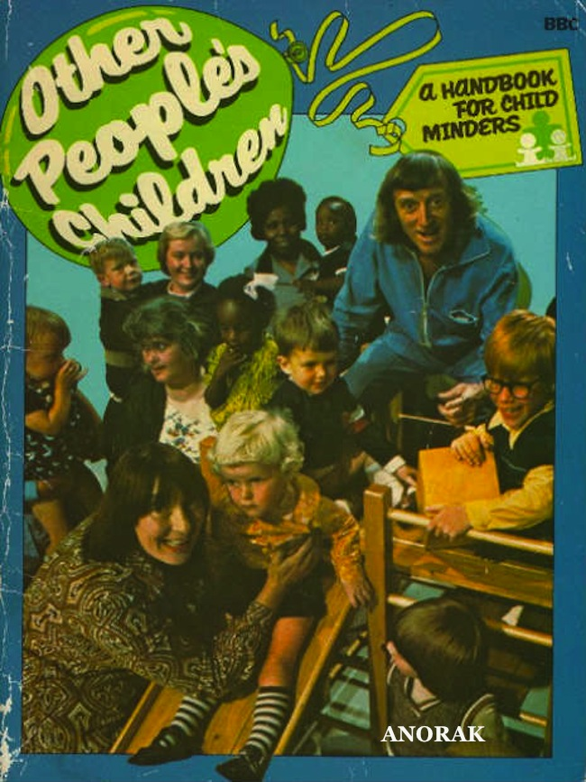 Jimmy Savile book of the day: Other Peoples Children   A Handbook for Child Minders