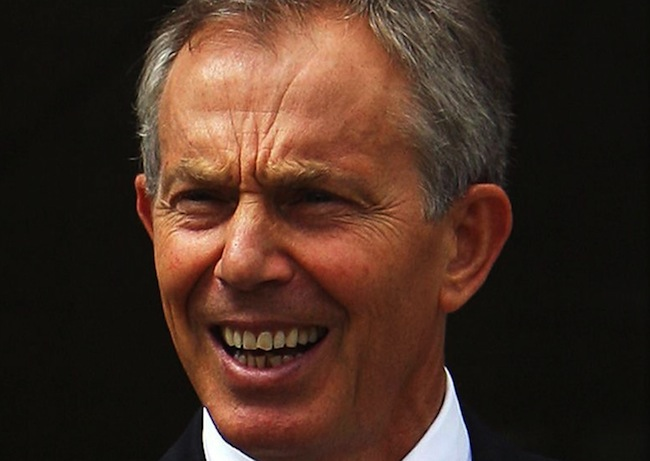 PA 13614745 Tony Blair refuses to pay student teacher intern