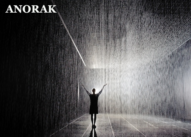 PA 14719665 Rain Room: Random International recreates a wet car park at the Barbican