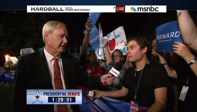  Chris Matthews shuts down the Obama debate