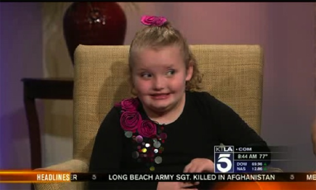 Hiatus gotta hate: Honey Boo Boo gets mocked on KTLA Morning News