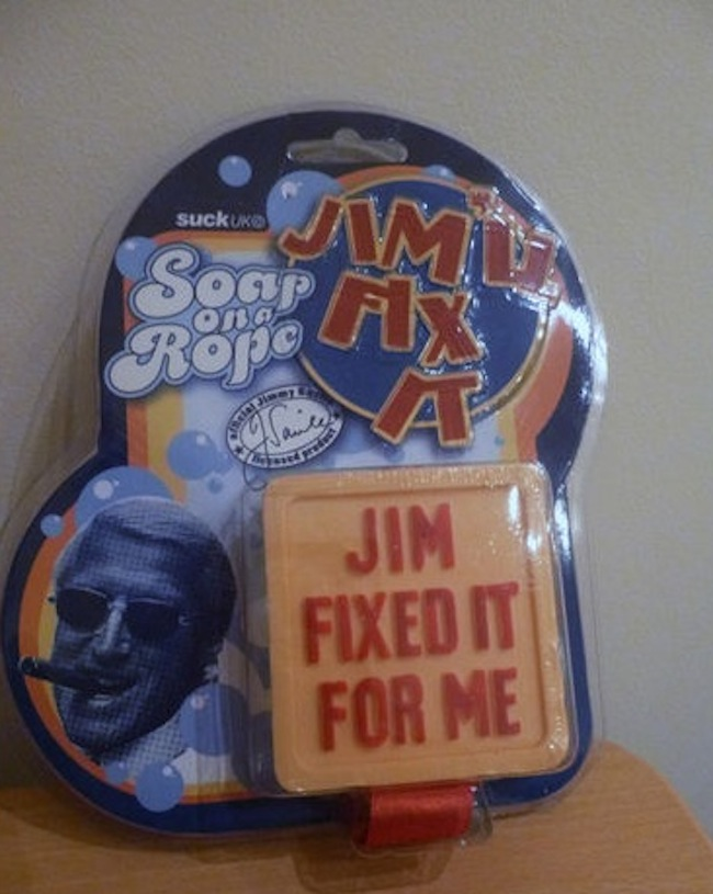 jimll fix it soap on a rope Jimmy Savile: The soap on a rope, a board game and tickets to take children all over the country