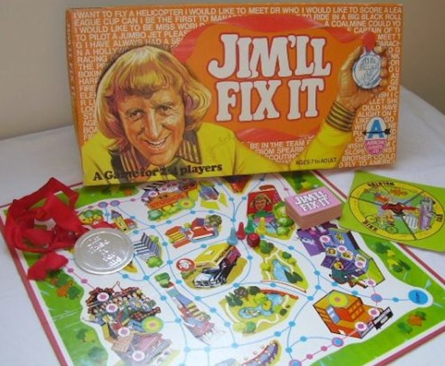 jimmy savile board game Jimmy Savile: The soap on a rope, a board game and tickets to take children all over the country