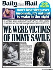 Everyone knew someone raped by Jimmy Savile