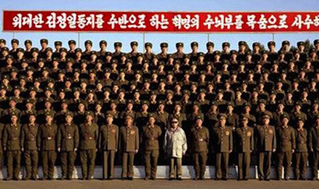  North Korea: Labor Hero Awarded to Lathe No. 26 at Pyongyang Textile Machine Factory