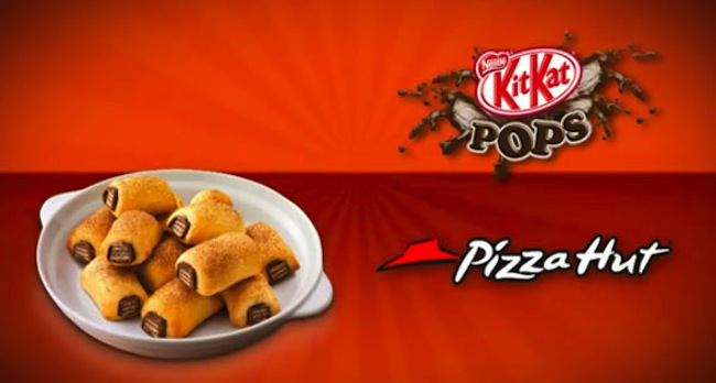 Pizza Hut Middle East bakes Kit Kats, cheeseburgers, hot dogs and chicken snot into the crust