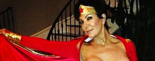 Kris Jenner's nipple turned Wonder Woman into Kate Middleton