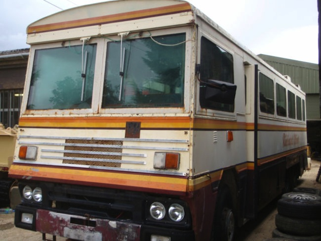  For sale: Magaret Thatchers Northern Ireland battle bus (photos)